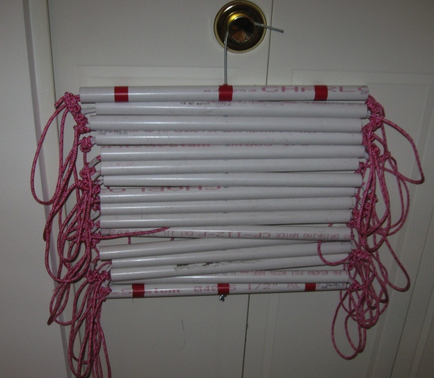 Pvc Ladder Rungs : Training gear update ladder rope belt hammer oh my